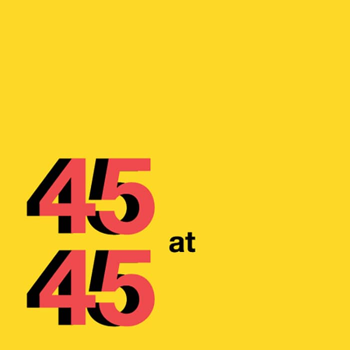 45at45 Design by Zac Fay