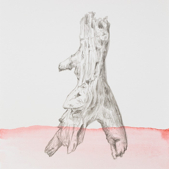 Rosie Weiss, Mt Martha, 2016, CHinese Ink And Watercolour On Arches, 160 X 125mm