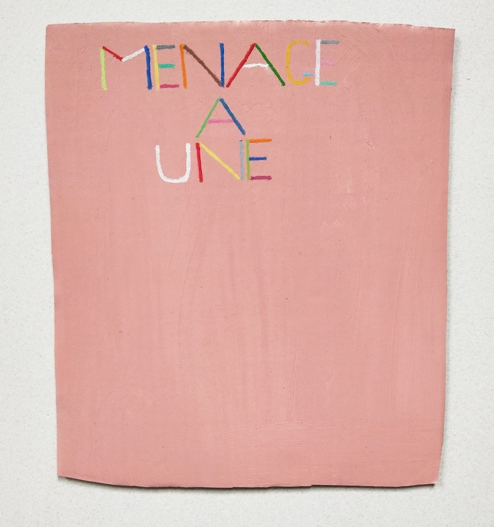 Menage A Une (pink), James Hale