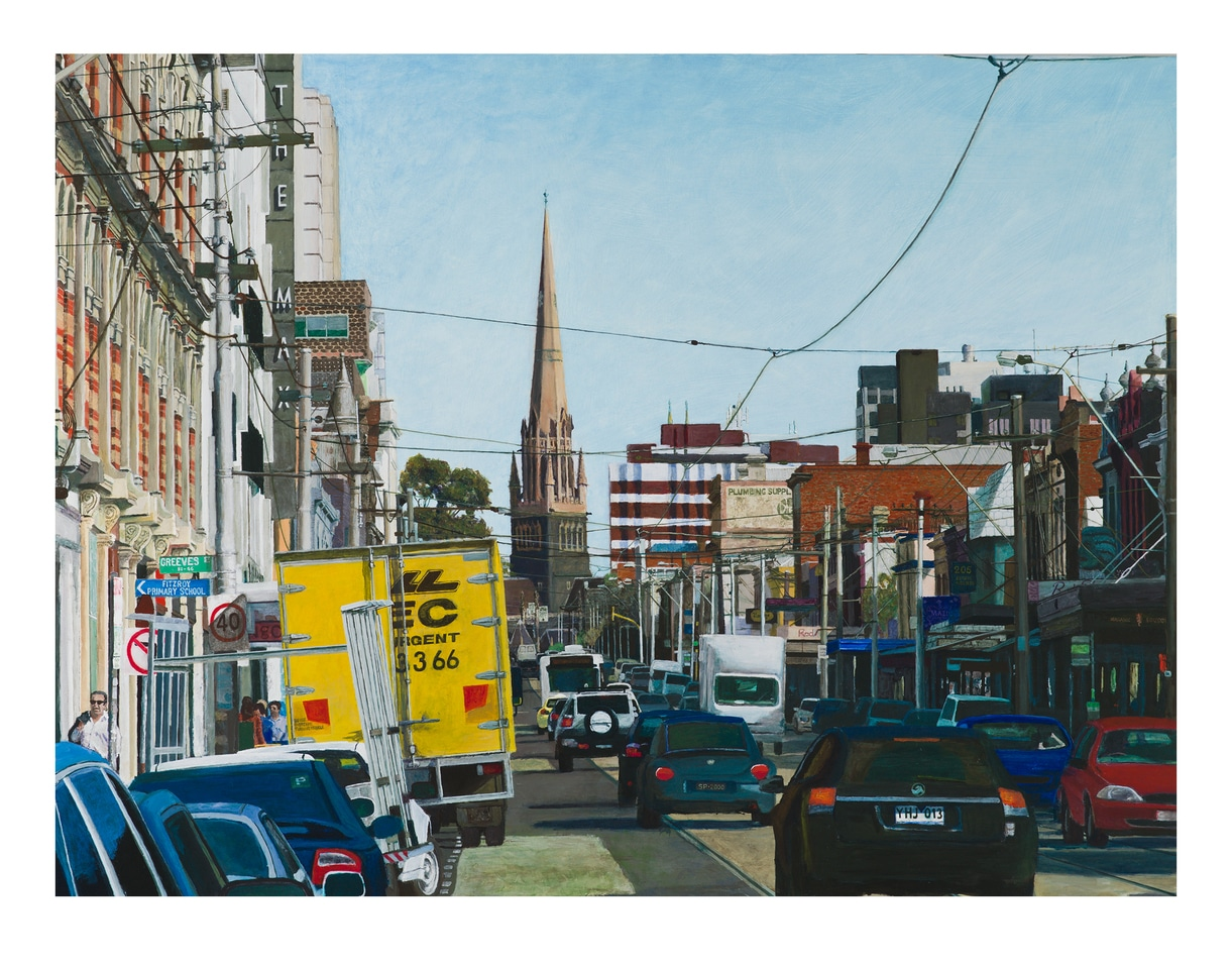 The Max, Brunswick St, Afternoon Of 3rd October, 2012 By James Yuncken
